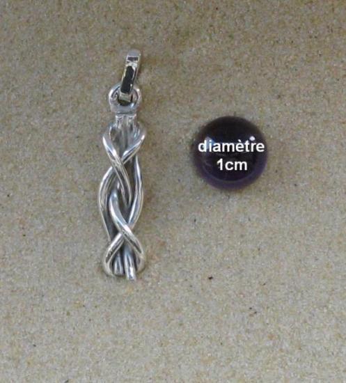 pendentif noeud de vice et versa